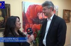 Egitim ve Kültür Bakanı Prof. Dr. Piazolo Türk medyası ve Dernek temsilcileriyle buluştu