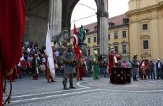 İznik Mehteran Takımı Odeonsplatz'da
